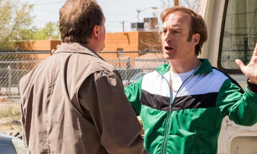 Bob Odenkirk as Jimmy McGill / Saul Goodman in Better Call Saul, season four.