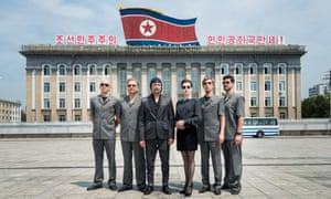 Rocking up in North Korea … Slovenian band Laibach