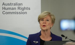 Gillian Triggs says several Syrian and Iraqi refugees are currently being held in offshore detention.