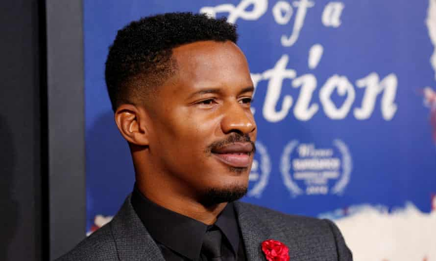 Nate Parker attends the premiere of The Birth of a Nation in Hollywood.