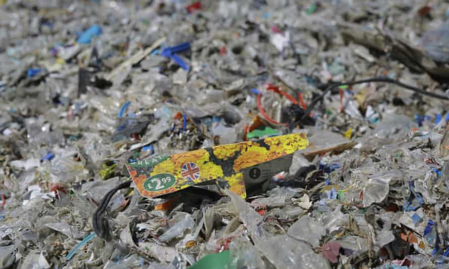 Plastic waste among other items at an illegal garbage dump near Alibeyköy Dam on the outskirts of Istanbul, Turkey.