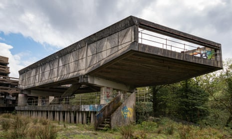 Gillespie Kidd & Coia's St Peter's seminary in Cardross (1966).