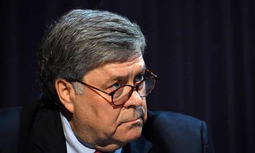 Amid concern that the attorney general, William Barr, is using the department to advance Trump's political interests, observers say the department is failing to protect the voting rights of minority groups.
