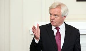 David Davis, the Brexit minister