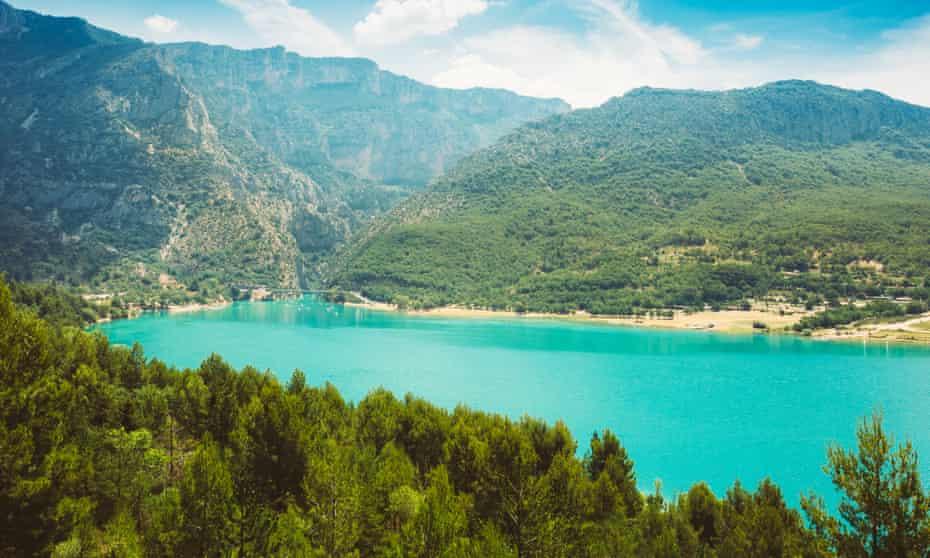 St Croix Lake in Gorges Du Verdon.