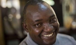 The Gambian President elect Adama Barrow