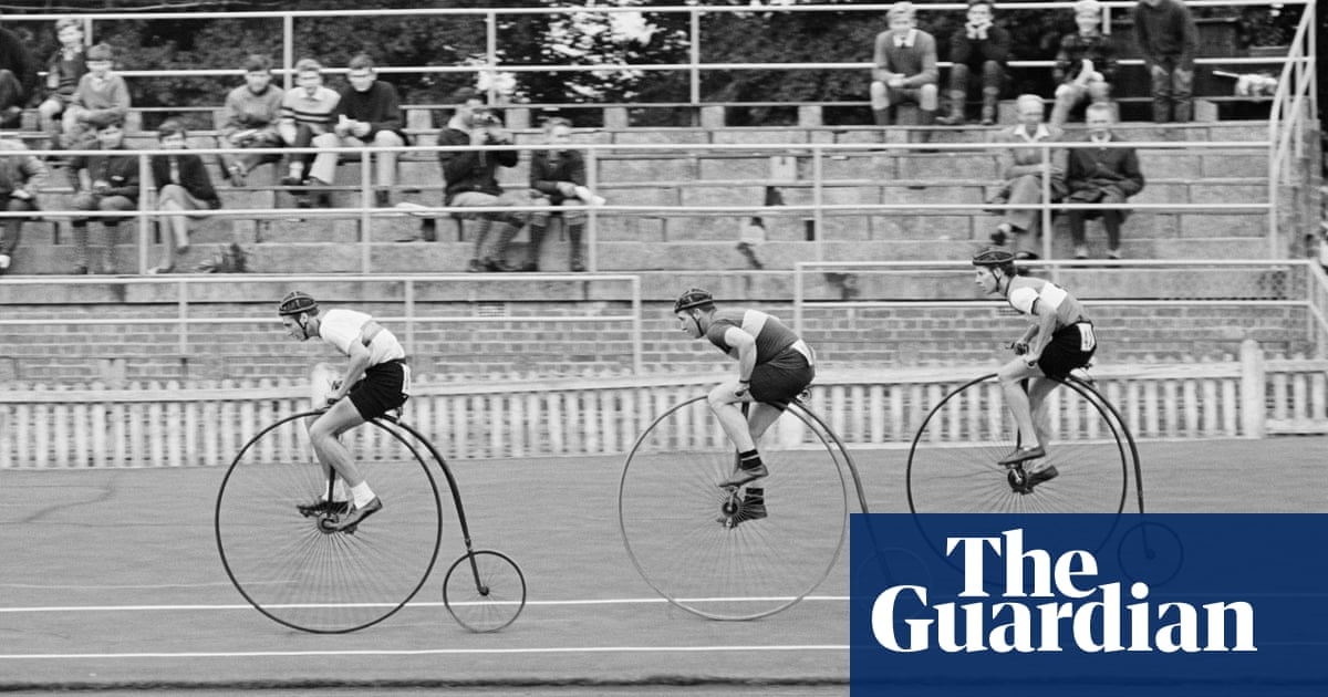 Buy a classic sport photograph: penny farthing racing - the guardian