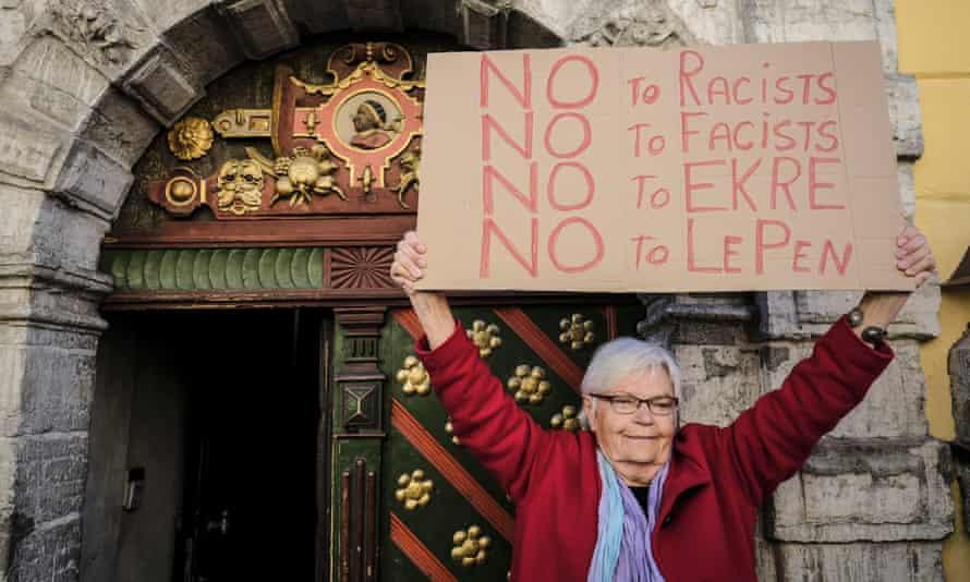 Anti-EKRE protest