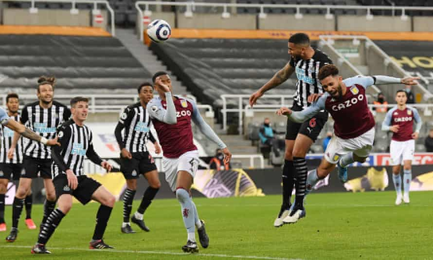 Jamaal Lascelles heads the equaliser.