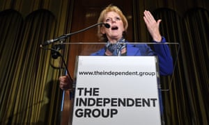 The MP Anna Soubry left the Tory party on Wednesday.