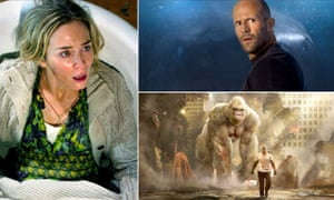 A Quiet Place, The Meg and Rampage