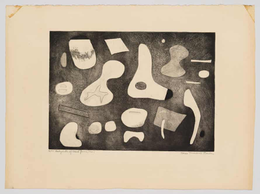 Labyrinth of Closed Forms by Alice Trumbull Mason (1945).