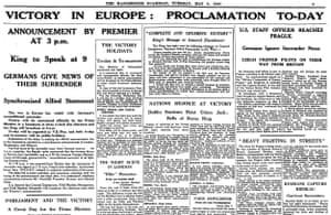Manchester Guardian, 8 May 1945.