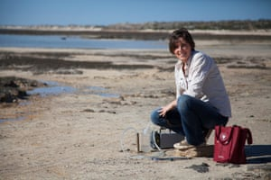 Erica Suosaari, a geologist and stromatolite expert from Bush Heritage Australia, says the bacteria building the stromatolites at Hamelin pool are the same as those that were active 3.7bn years ago.
