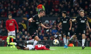 Mason Greenwood of Manchester United is fouled resulting in a penalty.