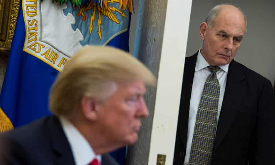 John Kelly and Trump have reportedly been at loggerheads for months.