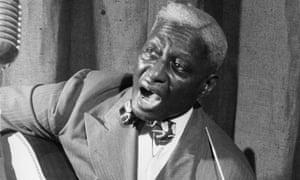 Louisiana bluesman Lead Belly.
