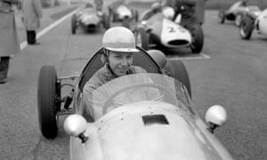 John Surtees in 1960, at the start of his car racing career.