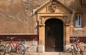 Door in Oxford