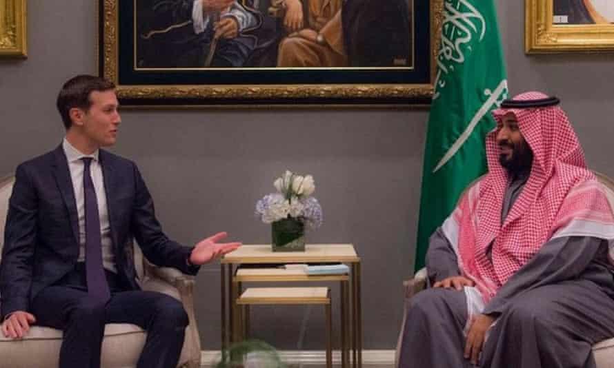 Prince Mohammed and Jared Kushner