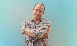 Robert Webb photographed for the Observer New Review by Phil Fisk in London.
