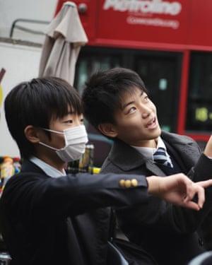 school kids london