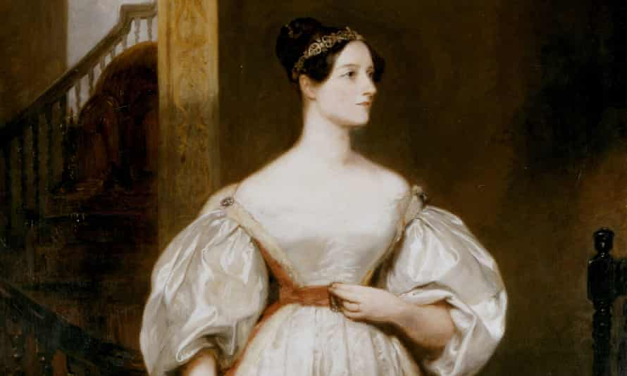 Detail from Margaret Carpenter's portrait of the pioneering mathematician Ada Lovelace