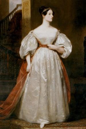 Augusta Ada, Countess Lovelace (1815-1852) by Margaret Carpenter.