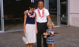 Dani Shapiro, right, visited Hawaii in 1966 with her parents, Irene and Paul Shapiro.