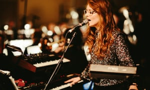 Hannah Peel performing her Journey to Cassiopeia at Hull's New Music Biennial
