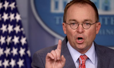 Mick Mulvaney said using Huawei equipment could have a 'direct and dramatic impact' on intelligence sharing