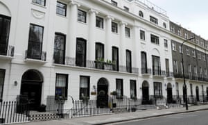 Rooms of one's own … Mecklenburgh Square in London.