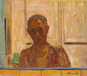 Self-portrait, c1938: 'a ghost in glasses'.