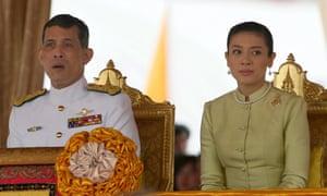 Crown Prince Maha Vajiralongkorn with his then wife Princess Srirasm in 2006.