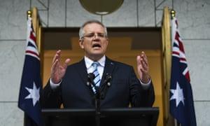Scott Morrison announces his cabinet on Sunday.