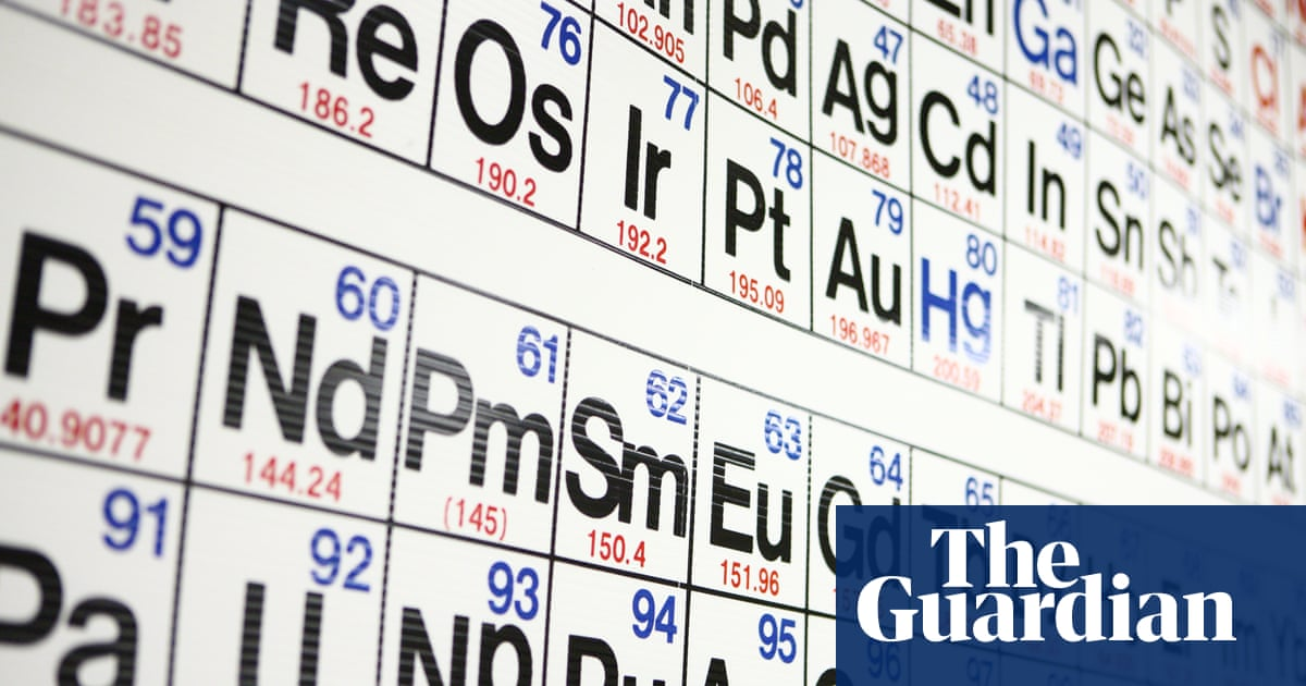 Four New Elements Find A Place On Periodic Table Science The