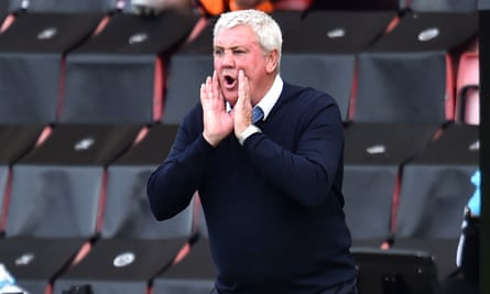 Steve Bruce has been irked by claims Newcastle are not making progress under his leadership.