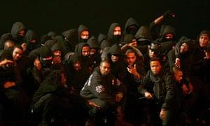 Kanye West embraces the UK's grime scene