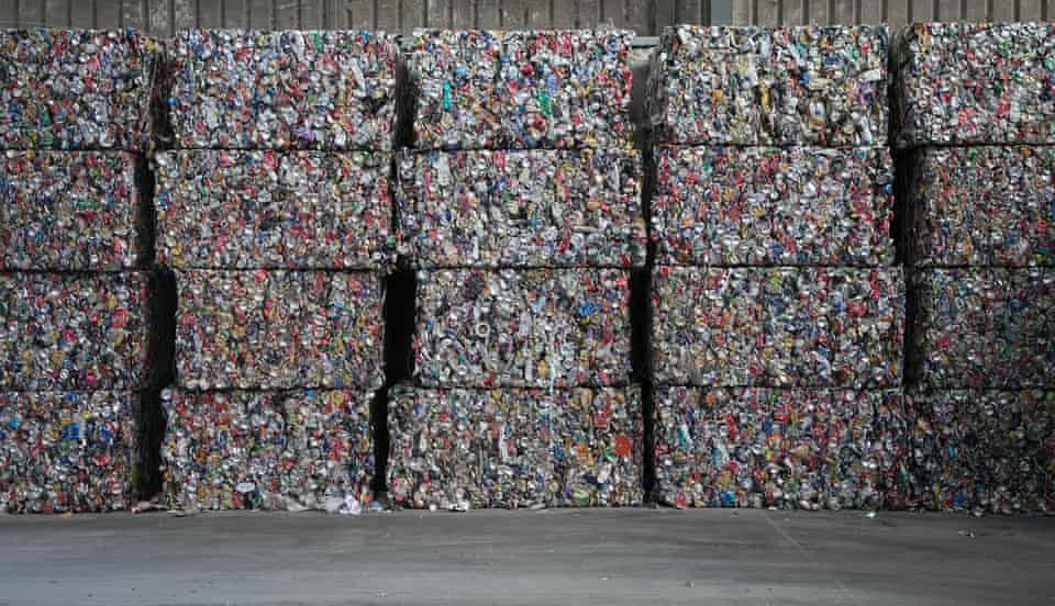 The Re Group recycling facility in Hume, ACT, Australia.