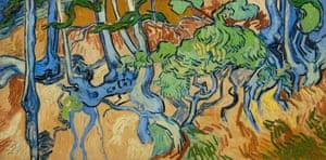 Van Gogh's Tree Roots (1890).