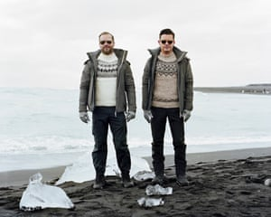 Andres and Edgar, Diamond Beach, 2018