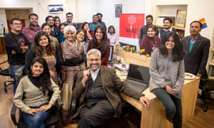 The team at The Wire, in Delhi