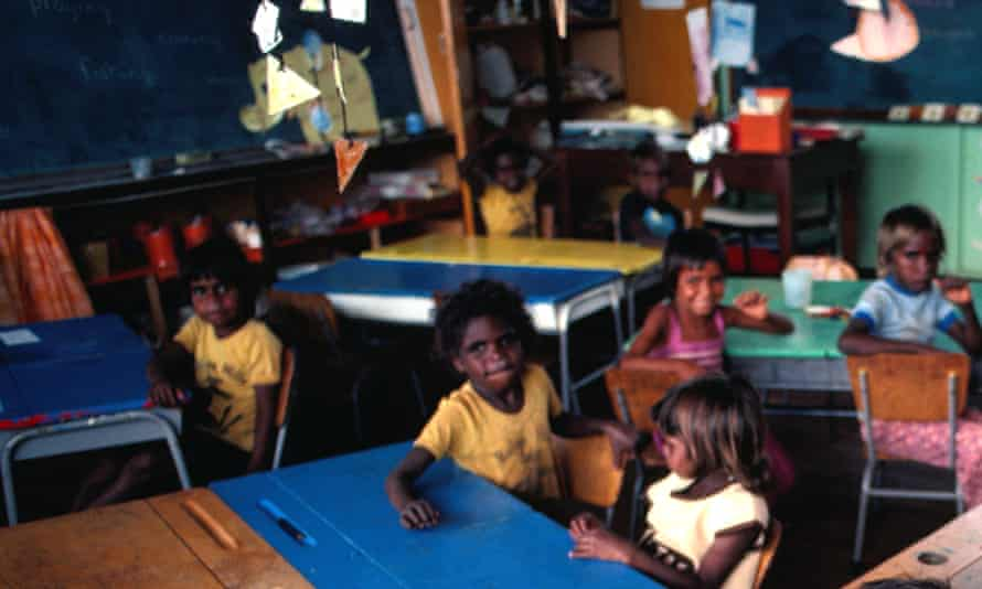 Generic picture of Indigenous students at a school