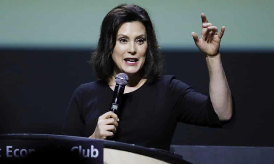 Michigan governor-elect Gretchen Whitmer in Detroit on 31 October.
