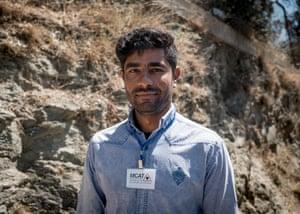 Pharmacist Omid, from Kabul
