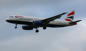 The BA flight from Naples landed at 12.30am on Friday after an emergency was declared.