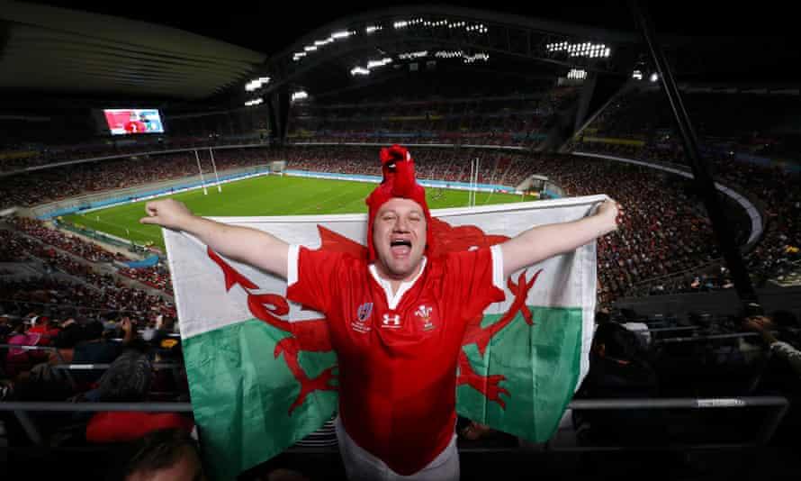 A Welsh rugby fan in Japan, 2019