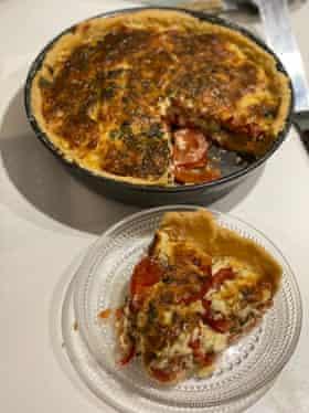 Pastel de tomate de Ashley Christensen