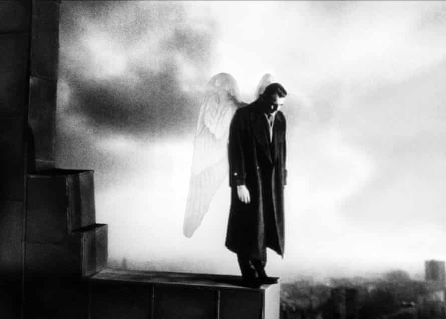 History gaped through wounds in the landscape … Wings of Desire.