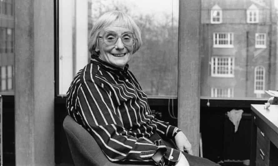 Margaret Meek Spencer at the Institute of Education, 1988.